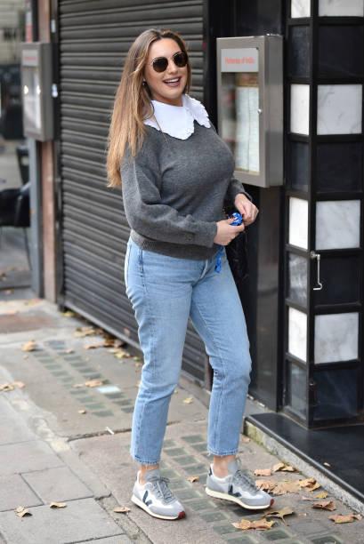 GBR: London Celebrity Sightings - October 19, 2020