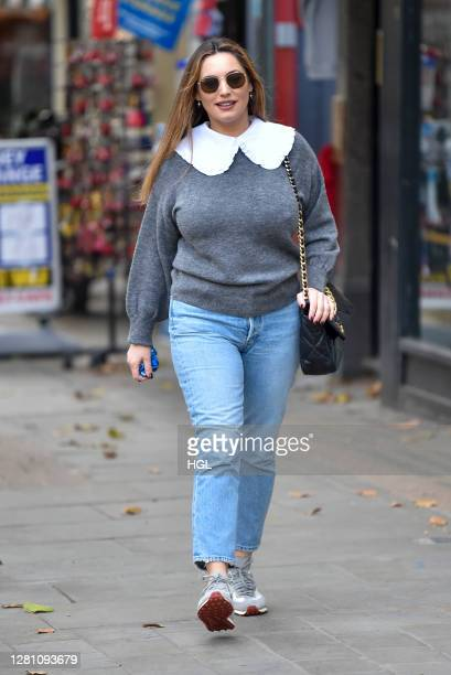 Kelly Brook sighting on October 19 2020 in London England