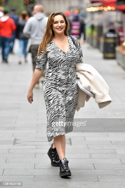 Kelly Brook sighting on October 23 2020 in London England