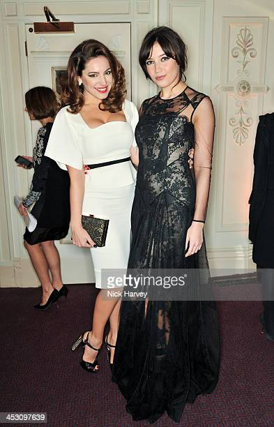 Kelly Brooks and Daisy Lowe attend the British Fashion Awards 2013 at London Coliseum on December 2 2013 in London England