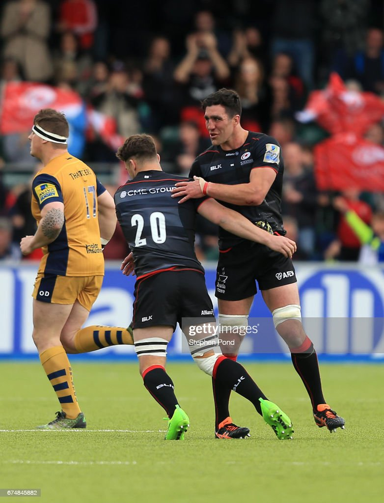 Saracens v Bristol Rugby - Aviva Premiership : News Photo