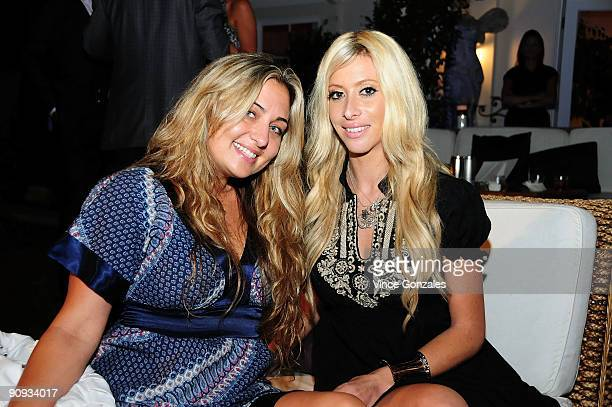 Kelly Cam and Aubry Fisher attend Los Angeles Confidential magazine's annual pre-Emmy party, hosted by Heidi Klum and Niche Media CEO Jason Binn,...