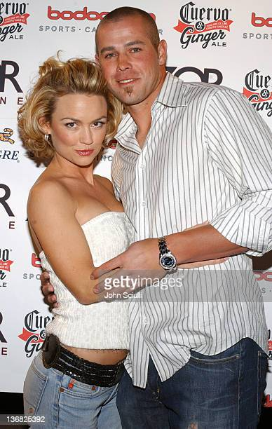 Kelly Carlson and Bobby Crosby MLB'S Rookie of the Year of the Oakland A's