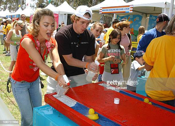 Kelly Carlson and Chris Pratt at the 2004 Target A Time for Heroes Celebrity Carnival to benefit the Elizabeth Glaser Pediatric AIDS Foundation