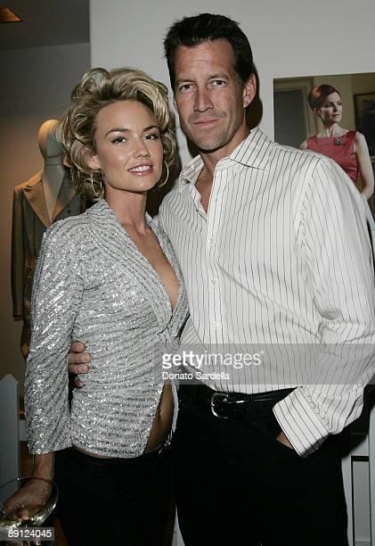 Kelly Carlson and James Denton