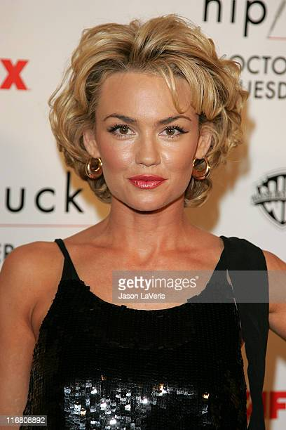 Kelly Carlson at the Season 5 Premiere of Nip/Tuck on October 20, 2007.