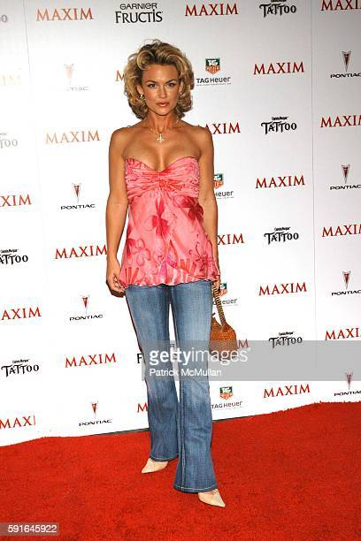 Kelly Carlson attends Maxim Magazine Unveils their HOT 100 for 2005 at Hollywood on May 12 2005