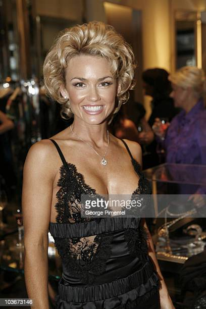 Kelly Carlson attends the Loree Rodkin Cocktail Party held at Hazel Boutique during the 2008 Toronto International Film Festival on Septmeber 7 2008...