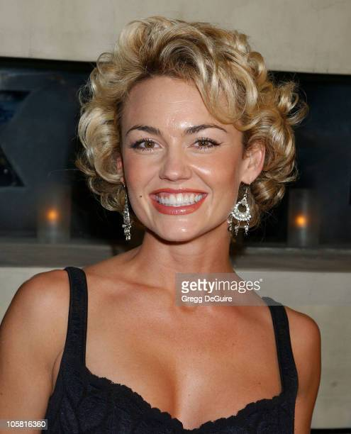 Kelly Carlson during 2004 Fox Broadcasting Network Prime Time Lineup Party - Arrivals at Dolce Restaurant in Los Angeles, California, United States.