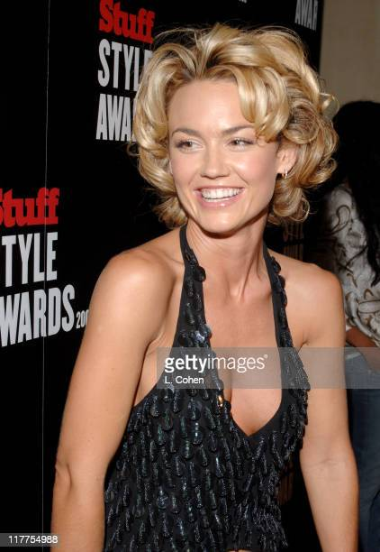 Kelly Carlson during 2005 Stuff Style Awards Red Carpet at Hollywood Roosevelt Hotel in Los Angeles California United States