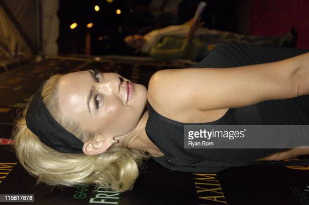 Kelly Carlson during 2006 Maxim Hot 100 Party Red Carpet at Buddha Bar in New York City New York United States