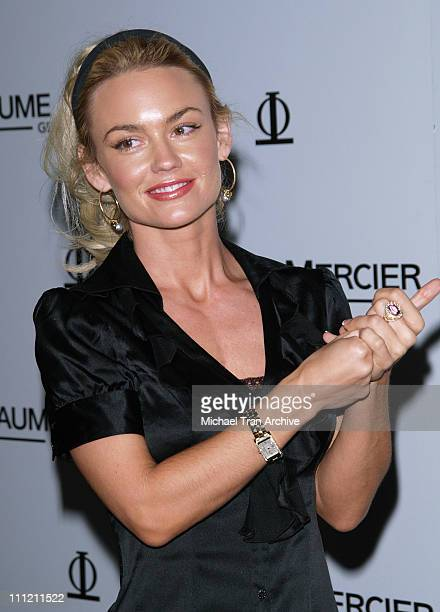 Kelly Carlson during Baume Mercier Preview 2006 Fall Collection Party Hosted by Molly Sims October 26 2006 at Area Nightclub in West Hollywood...