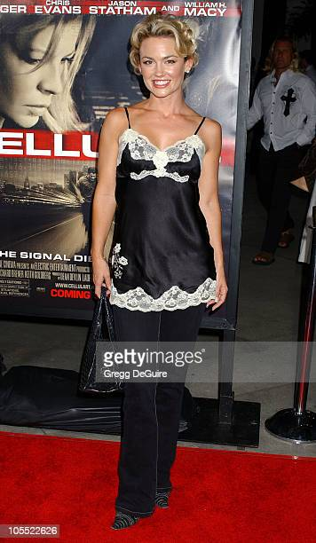 Kelly Carlson during Cellular Los Angeles Premiere Arrivals at Cinerama Dome in Hollywood California United States