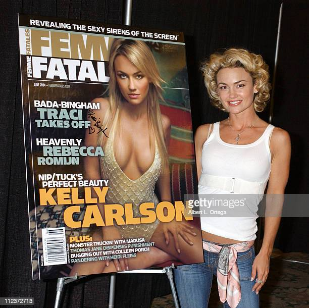 Kelly Carlson during Creation Entertainment and Femme Fatales Magazine Presents Weekend Of Wonder Day One at Burbank Airport Hilton in Burbank...