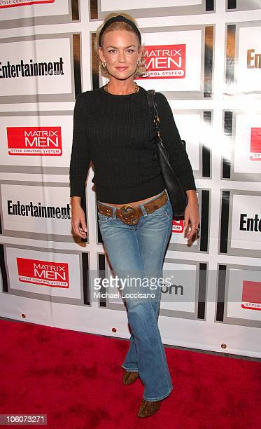 Kelly Carlson during Entertainment Weekly/Matrix Men 2006 Upfront Party at The Manor in New York City, New York, United States.
