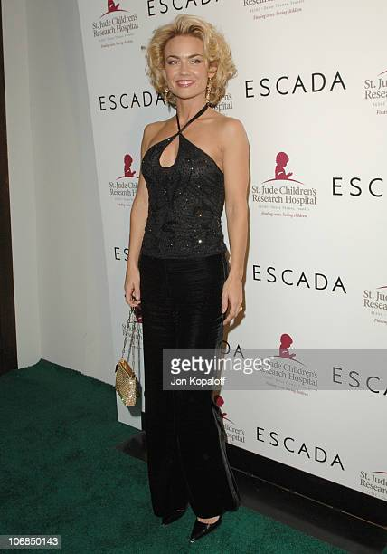 Kelly Carlson during Escada's 2006 Spring/Summer Collection Launch to Benefit St. Jude Children's Research Hospital at Meson G in Los Angeles,...