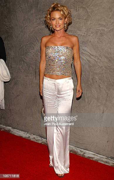 Kelly Carlson during FX Networks Nip/Tuck 3rd Season Premiere Screening After Party at Geisha House in Hollywood California United States