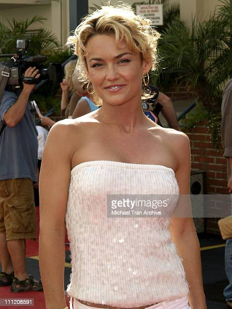 Kelly Carlson during FX's Over There Los Angeles Premiere Arrivals at Darryl F Zanuck Theatre on the FOX Lot in Los Angeles California United States