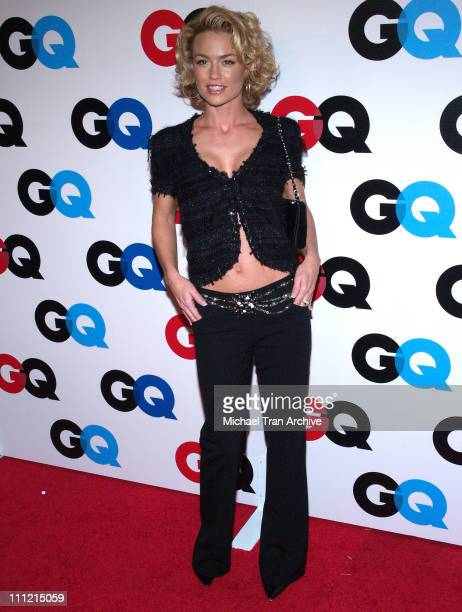 Kelly Carlson during GQ Celebrates 2005 Men of the Year Arrivals at Mr Chow in Beverly Hills California United States