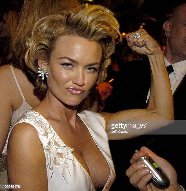 Kelly Carlson during HBO Golden Globe Awards Party Inside at Beverly Hills Hilton in Beverly Hills California United States