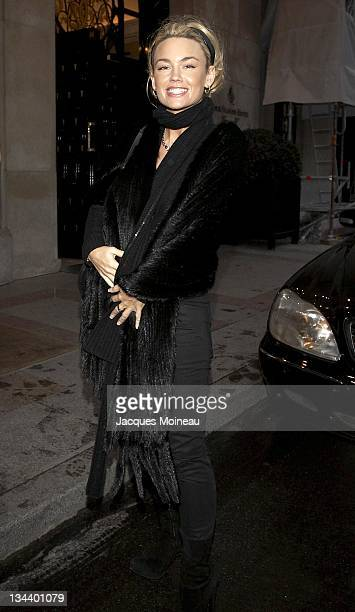 Kelly Carlson during Kelly Carlson Sighting in Paris - January 24, 2007 at George V Palace Hotel in Paris, France.