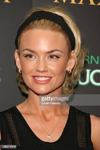 Kelly Carlson during Maxim Magazine's 7th Annual Hot 100 Party Arrivals at Buddha Bar in New York New York United States