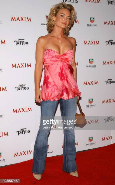 Kelly Carlson during Maxim Magazine's Hot 100 Arrivals at Montmartre Lounge in Hollywood California United States