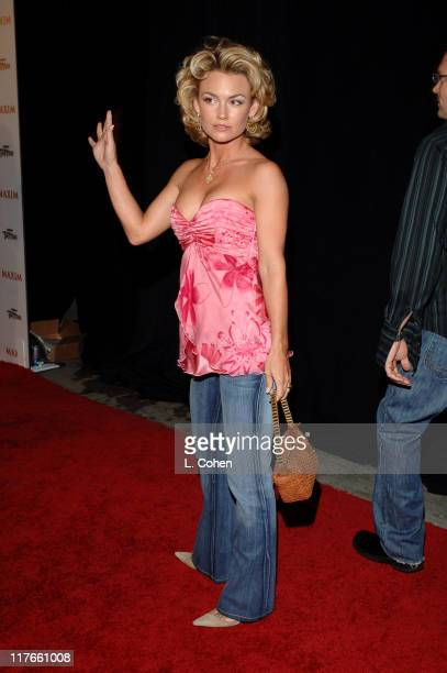 Kelly Carlson during Maxim Magazine's Hot 100 - Red Carpet at The Day After in Hollywood, California, United States.