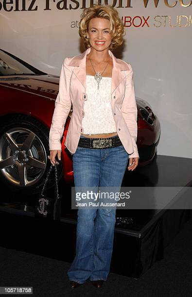 Kelly Carlson during MercedesBenz Fall 2005 Fashion Week at Smashbox Studios Day 1 Arrivals at Smashbox Studios in Culver City California United...