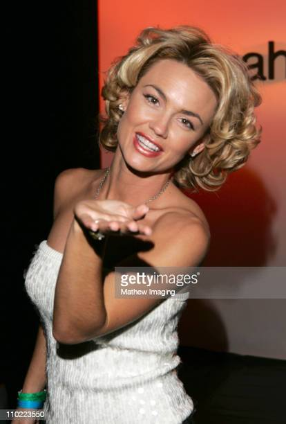 Kelly Carlson during MercedesBenz Fall 2005 LA Fashion Week at Smashbox Studios Pegah Anvarian Runway at Smashbox Studios in Culver City California...