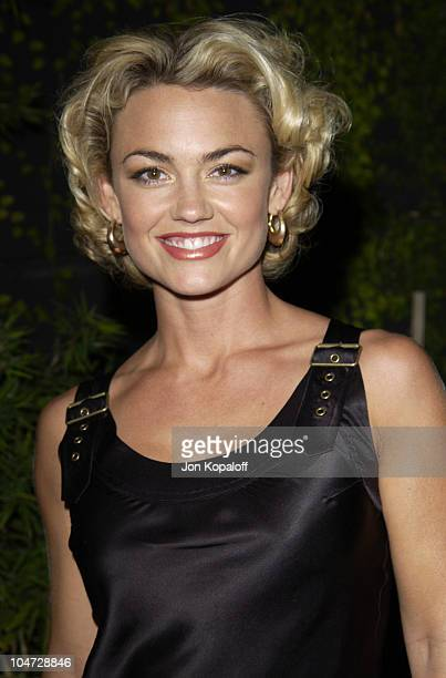 Kelly Carlson during Movieline's Hollywood Life Magazine Kick Off Party at Falcon Restaurant in Hollywood, California, United States.