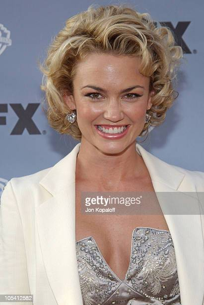 Kelly Carlson during Nip/Tuck Season 2 Premiere Arrivals at Paramount Pictures Theatre in Los Angeles California United States