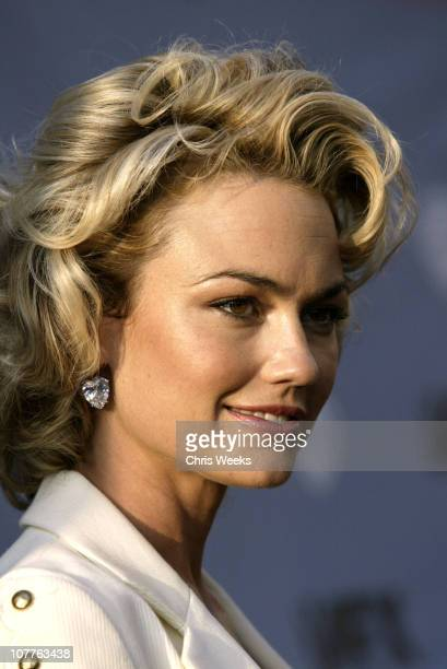 Kelly Carlson during Nip/Tuck Season 2 Premiere Red Carpet at Paramount Theatre in Los Angeles California United States