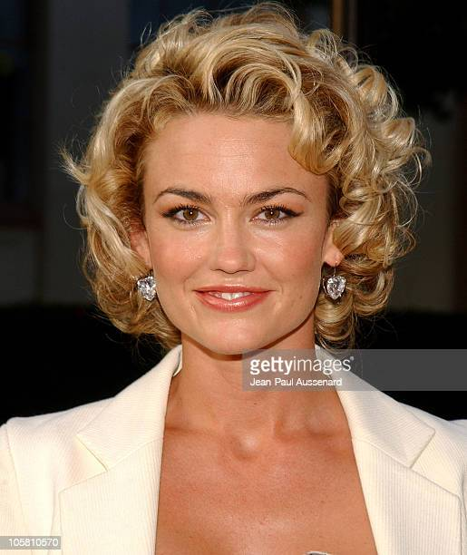 Kelly Carlson during Nip/Tuck Season Two Premiere Arrivals at Paramount Theatre in Los Angeles California United States