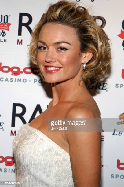 Kelly Carlson during Razor Magazine's 4th Annual Baseball Preview Party at FOX Sports Grill in Scottsdale Arizona United States