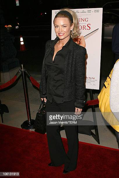 "Kelly Carlson during ""Running with Scissors"" Los Angeles Premiere - Arrivals at The Academy in Beverly Hills, California, United States."
