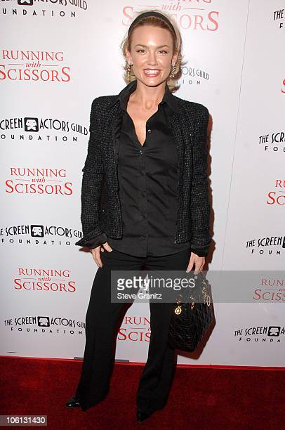 "Kelly Carlson during ""Running with Scissors"" World Premiere - Arrivals at The Academy in Beverly Hills, California, United States."