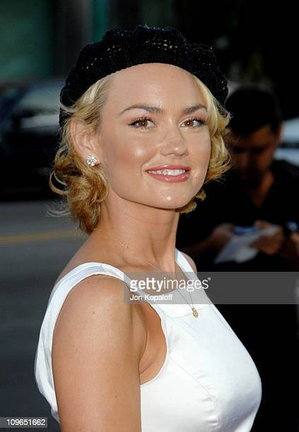 Kelly Carlson during Sicko Los Angeles Premiere Arrivals at Academy Of Motion Picture Arts Sciences in Beverly Hills California United States