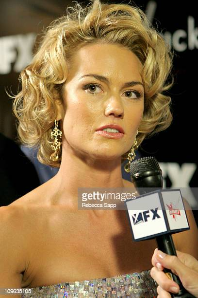 Kelly Carlson during Smirnoff at FX Network's Nip/Tuck 3rd Season Premiere Party at Geisha House in Hollywood California United States