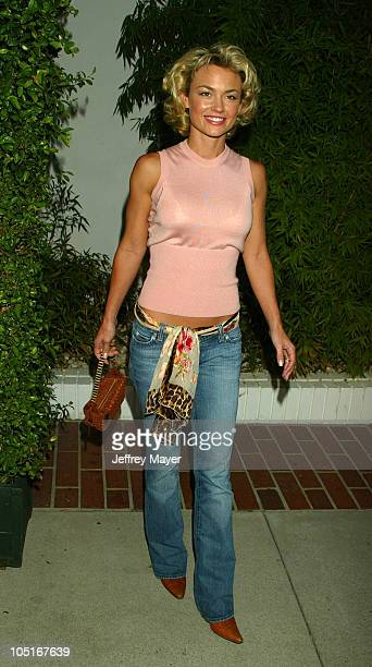 Kelly Carlson during Stella McCartney Los Angeles Store Opening - Arrivals at Stella McCartney Store in Los Angeles, California, United States.