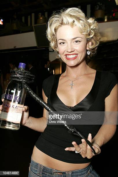 Kelly Carlson during Svedka Vodka Presents the Erotica Reading Series Featuring Aisha Tyler at Monroe's in West Hollywood California United States