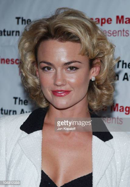 Kelly Carlson during The 30th Annual Saturn Awards - Arrivals at Sheraton Universal Hotel in Universal City, California, United States.