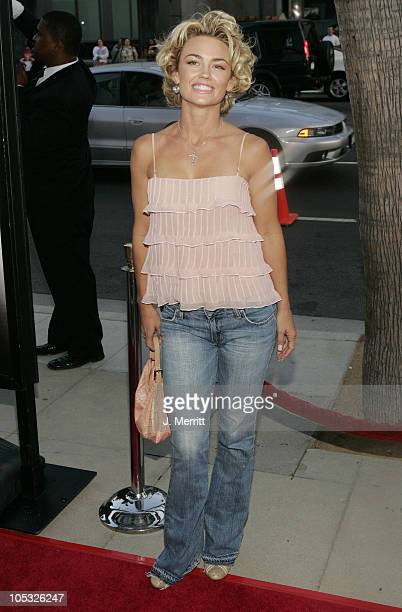 Kelly Carlson during The Manchurian Candidate Los Angeles Premiere at The academy in Beverly Hills California United States