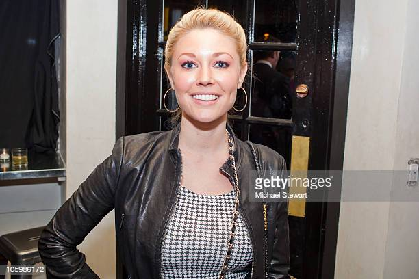 Kelly Carrington attends Lindsey Vuolo's birthday party at The Windsor on October 23 2010 in New York City
