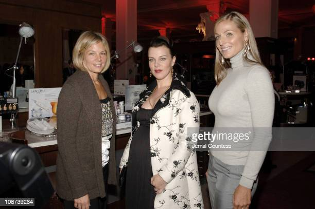 Kelly Chapman Meyer Debi Mazar and Jamie Tisch during Saks Fifth Avenue's Key to the Cure Benefit for the EIF's Women's Cancer Research Fund...