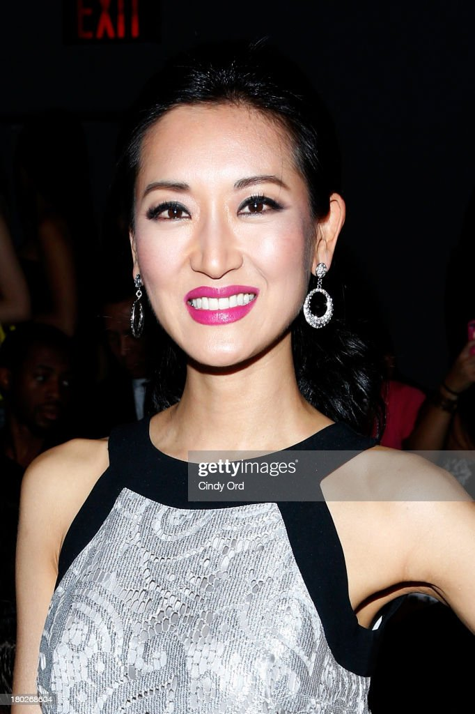 Kelly Choi attends the Fashion Shenzhen fashion show during Mercedes-Benz Fashion Week Spring 2014 at The Studio at Lincoln Center on September 10, 2013 in New York City.