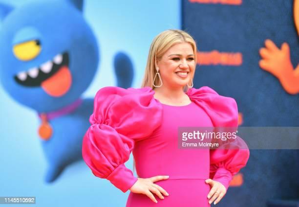 Kelly Clarkson attends STX Films World Premiere of UglyDolls at Regal Cinemas LA Live on April 27 2019 in Los Angeles California