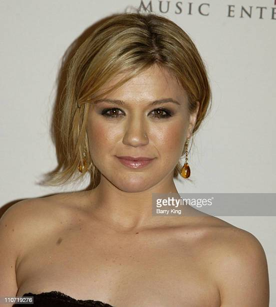 Kelly Clarkson during 2006 Sony/BMG GRAMMY After Party Arrivals at Roosevelt Hotel in Hollywood California United States