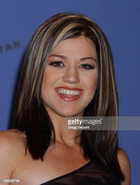 Kelly Clarkson during American Idol Season 1 Finale Performance Show Press Room at Kodak Theatre in Hollywood California United States