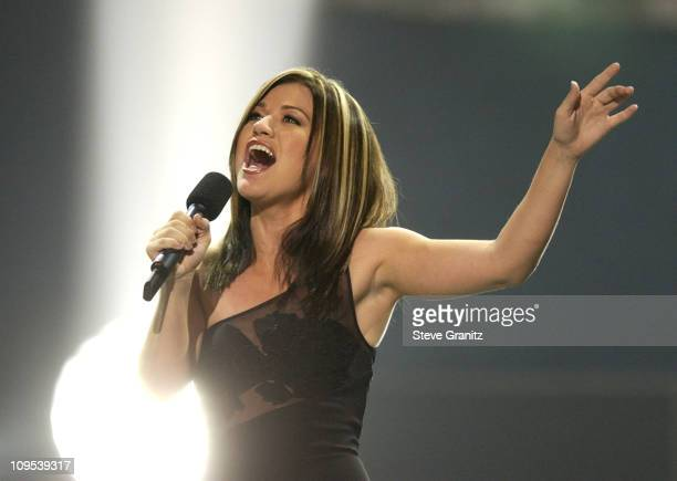 Kelly Clarkson during 'American Idol' Season 1 Finale Performance Show at Kodak Theatre in Hollywood California United States